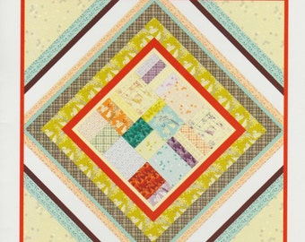 the Boho quilt by Violet Craft - DIY quilt pattern