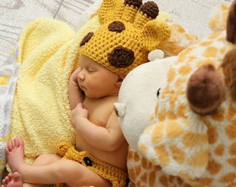 Diy halloween costumes etsy crochet pattern newborn giraffe set baby giraffe crochet pattern animal crochet pattern giraffe photo prop newborn giraffe costume solutioingenieria Images