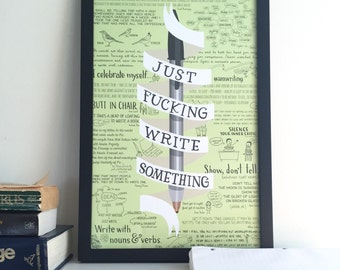Just Write Something poster