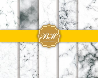 White Marble Digital Paper, Marble Background, Digital Marble Pattern, Marble Texture, Stone Texture Digital Paper, Stone Photo Backdrops