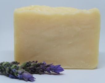 Lavender Tallow Soap, Grass Fed tallow soap, Organic soap, Sensitive skin soap, Moisturizing soap