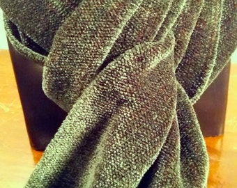 Everglade Evening -- Chenille Scarf