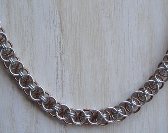 Helm Chain Weave Chainmaille Necklace