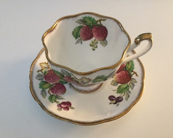 Queen Anne china cup and saucer.