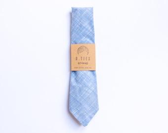 Handmade Necktie - Baby Blue