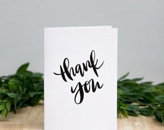 Thank You Card (Kraft or White)