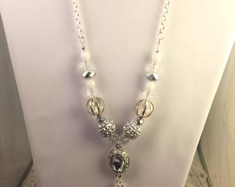Ice Queen Necklace & Earring Set