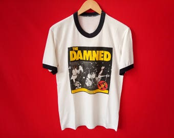 vintage The Damned punk rock band music concert