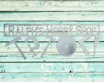Personalized Shop & Tools Sign (C22)