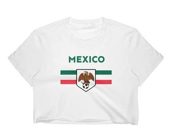 Mexican Eagle Snake Women's Crop Top