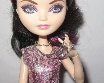 Handmade Custom OOAK Engagement Ring Pendant Doll Necklace for Ever After High Doll Monster High Doll Barbie Doll by TorresDesigns RTS