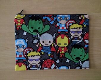 Avengers Pencil Pouch / Makeup Bag