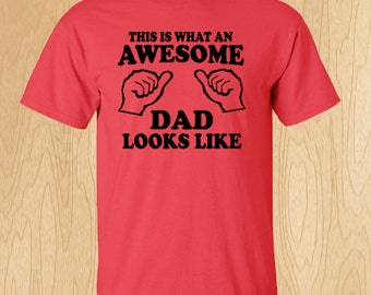 Awesome Dad Father's Day T-Shirts