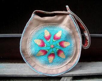 """Große XL- Hippie- Tasche """"Springtime"""""""