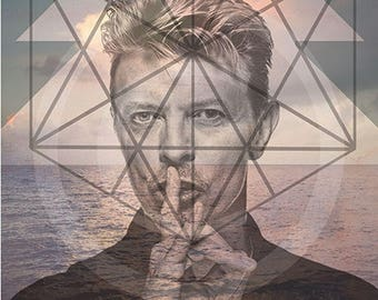 David Bowie, David Bowie Art, David Bowie Artwork, David Bowie Wall Art, David Bowie Wall Decor, David Wall Prints, David Bowie Prints