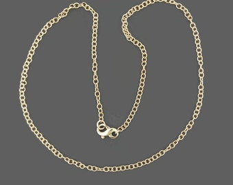 Bronze Rounded Cable Chain Made to Order