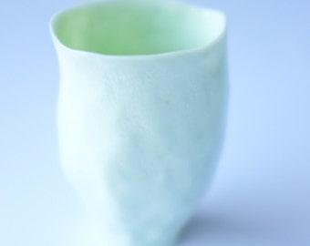 pale green porcelain vessel no.1