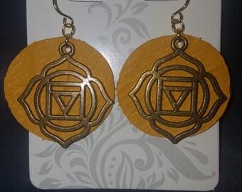 Navel Chakra  earrings