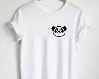 Panda Shirt Rawr Shirt - Animal Panda Tshirt Cute Tees Graphic Womans Shirt Mens Tshirt Panda Bear China Gift Present Bamboo Animal Face