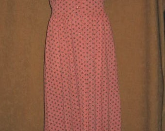 Maxi Dress - Sun Dress Sears S 70s Vintage