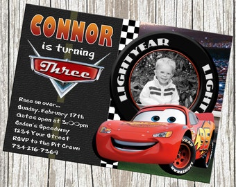 disney cars birthday party invitations Intoanysearchco