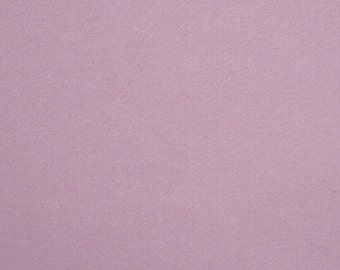 100% Wool Felt Fabric Material - 1mm - Lilac