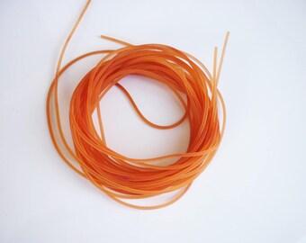 1 m round Orange PVC 1.5 mm