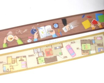 Washi Tape Samples, Washi Tape Set, Masking Tape Samples, Masking Tape Set, 1m