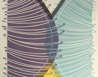 Fly Trap - Original Serigraph Print