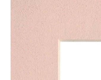 Mat Board Picture Frame Matting with Pre-Cut Opening Pastel Pink MB1030