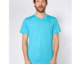 American Apparel 2001 T-shirt - Any Design in Our Shop with Custom Colors - Men Unisex Tee