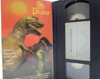 The Last Dinosaur VHS Tape