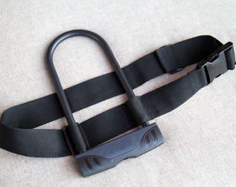 UBelt - Bicycle U-Lock Belt