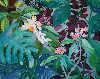 Tropicalia - illustration - giclee print