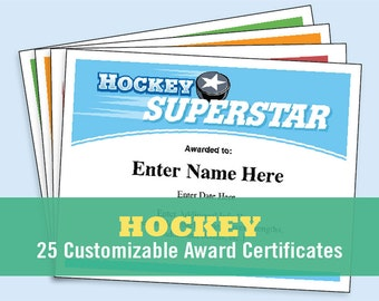 Football certificates templates youth football kid hockey certificates kid certificates child certificates hockey mom team parent hockey yadclub Choice Image