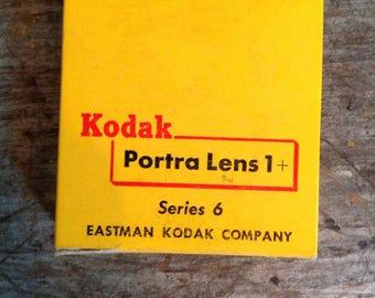 Vintage New in Package Kodak Portra Lens Series 6 1+