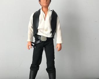 "Vintage 1977 Star Wars Han Solo large Size 12"""