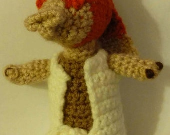 Star Wars Character Jar Jar Binks - Amigurumi *PATTERN ONLY*