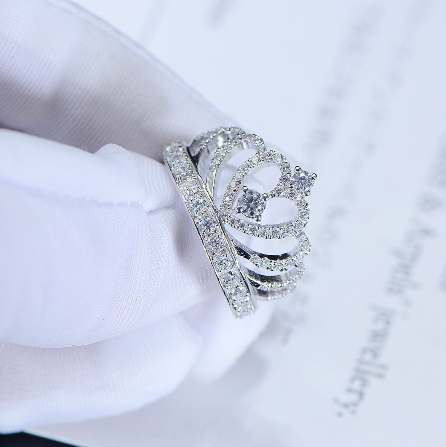 pair diamonds wedding tiara rings engagement of blog diamond ring your with crown