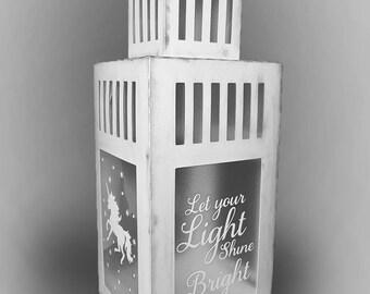 Modern Lantern with decals Template