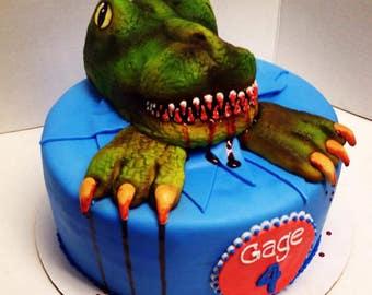 T rex cake topper Etsy