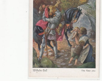 Brothers Grimm Fairy Tale, Early Postcard, One Of Twenty In Collection , Lovely Color