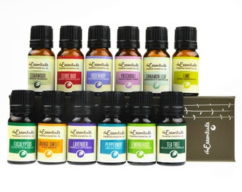 Top 12 Essential Oil Gift Set 100% Pure Therapeutic Grade 10 Ml bottle set