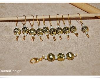 Stitch Markers for knitting Rosengold advance marker Progress keeper knitting
