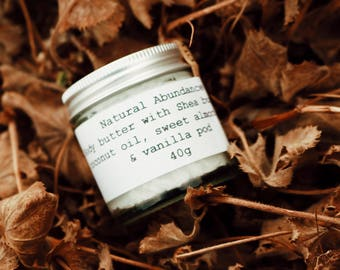 NATURAL BODY BUTTER - Natural Abundance