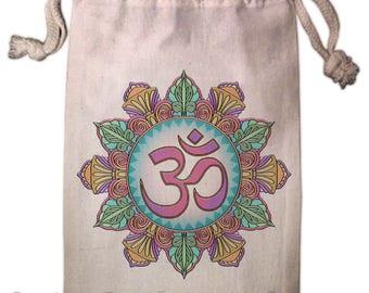 Om Mandala Tarot Bag -  Pagan Wiccan  - Brigid Ashwood