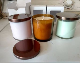 Customizable Tumbler Jar Soy Candle