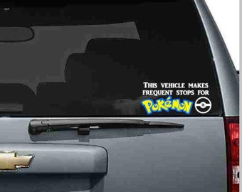 Pokemon Go Car Decal