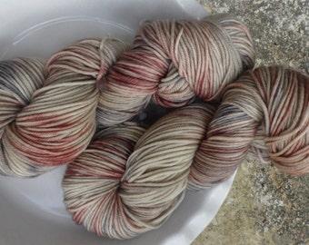 Hootie Who -- Decadent -- Hand Painted Superwash DK Merino Wool Yarn