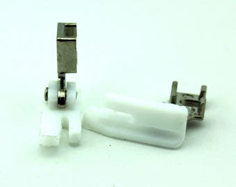 Low Shank Straight Stitch Teflon Foot With Piping Groove For Sewing Machine